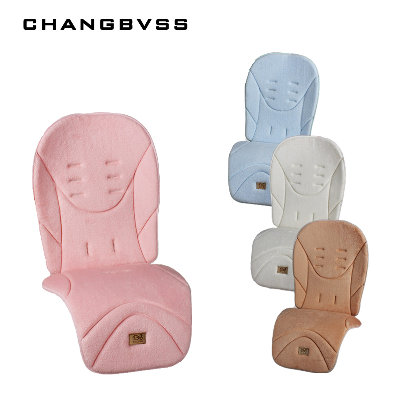 Luxury Baby Stroller Cushion,Comfortable Infant Baby Stroller Seat Pad,Kids Pram Carriage Travel Mat,Car Seat Chair Mattress Pad