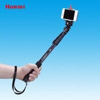 חמה למכירה עצמי מקל Yun טנג C-188 מקל לgopro חדרגל חצובה + מחזיק טלפון Selfie חצובות חדרגל טלפון נייד משלוח חינם