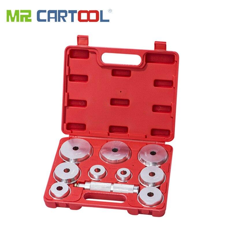 MONSIEUR CARTOOL 10 pièces Roulement et Course Installateur Ensemble Moyeux Retrait Kit Extracteur Extracteur