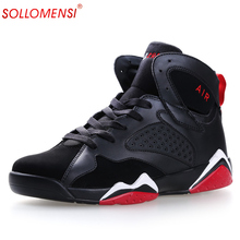HOT 2016 Men's Basketball Shoes homme Trending Style Light Women's Basketball Sport boots Sneakers For Male Shoes size 35-44