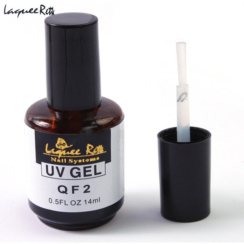 1x Non Sticky Top Coat Uv Gel Acrylic Nail Art Gel Polish