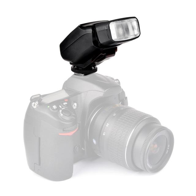 Nueva viltrox jy-610n ii flash en la cámara de flash para nikon canon cámara réflex digital de alta calidad libre del envío