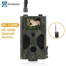 SUNTEKCAM HC-330M 16MP 940nm Ночное видение mms-камера для охоты Trail Камера SMS GSM GPRS 2G дикий камера TTL фото ловушка PK HC-300M