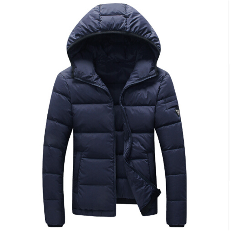 2016 Winter Men White Duck Down Jacket Men's Thick Parka Hooded Men Warm Coat Casual & Fit Outwear Man Brand Clothing high end business man white duck down jacket 2016 models 90% white duck down men outdoors with tops in thick warm coat long coat