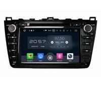 1024 600 Octa Core 8 Android 6 0 Car DVD GPS For Mazda 6 Ruiyi Ultra