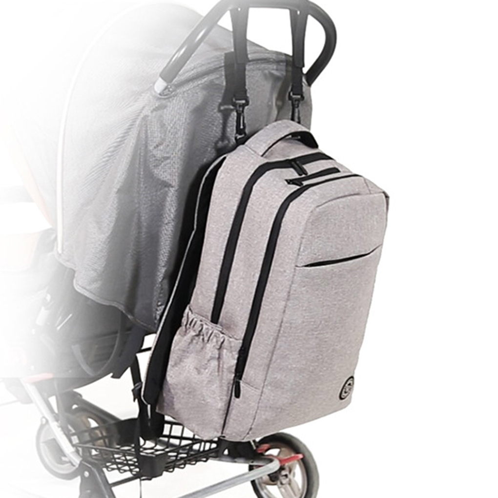 Lekebaby Maternity Backpack Diaper Bag Mommy Baby Changing Nappy Bags Baby Stroller Waterproof Bag for Baby Care