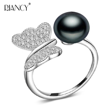 Fashion 925 Silver Adjustable Pearl Ring For Women, Real Natural Freshwater Pearl Ring Perfect Jewelry Gifts To Mother And Wife new product ring 925 silver ring main stone natural tourmaline perfect gemstone perfect quality