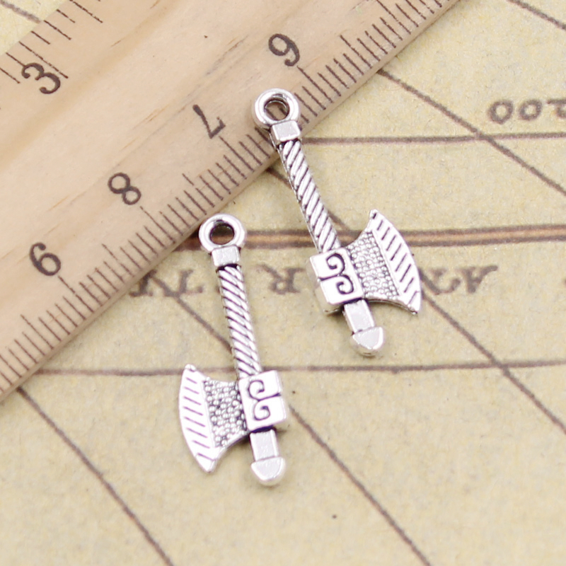 10x Silver Tibetan Alloy Tribal Cross Large Gothic Pendant Charm Jewelry Finding