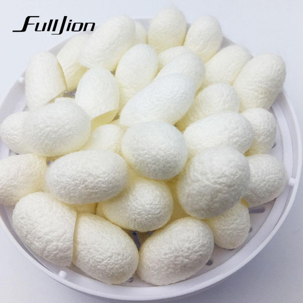 10pcs/pack HOT Natural silkworm cocoons ball, face care, facial cleanser, exfoliating scrub, blackhead remover peel off