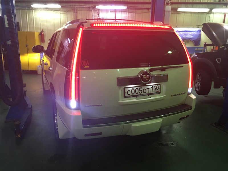 2pcs LED Tail Lights Assembly Rear Lamp New For Cadillac Escalade ESV 2007  2008 2009 2010 2011 2012 2014