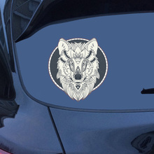 Car Styling 13.9*13cm Lion Car Stickers Funny Vinyl 3D Car Door Window Whole Body Motorcycle Stickers Decal car styling 3d car stickers funny auto ball hits car body window sticker self adhesive baseball tennis decal accessories