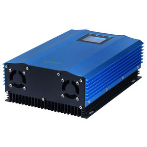 Image 3 - 48V 72V 96V Batttery Discharge Grid Tie inverter 1200W with Limiter Solar Panel Grid Tie Micro Inverter with LCD display MPPT