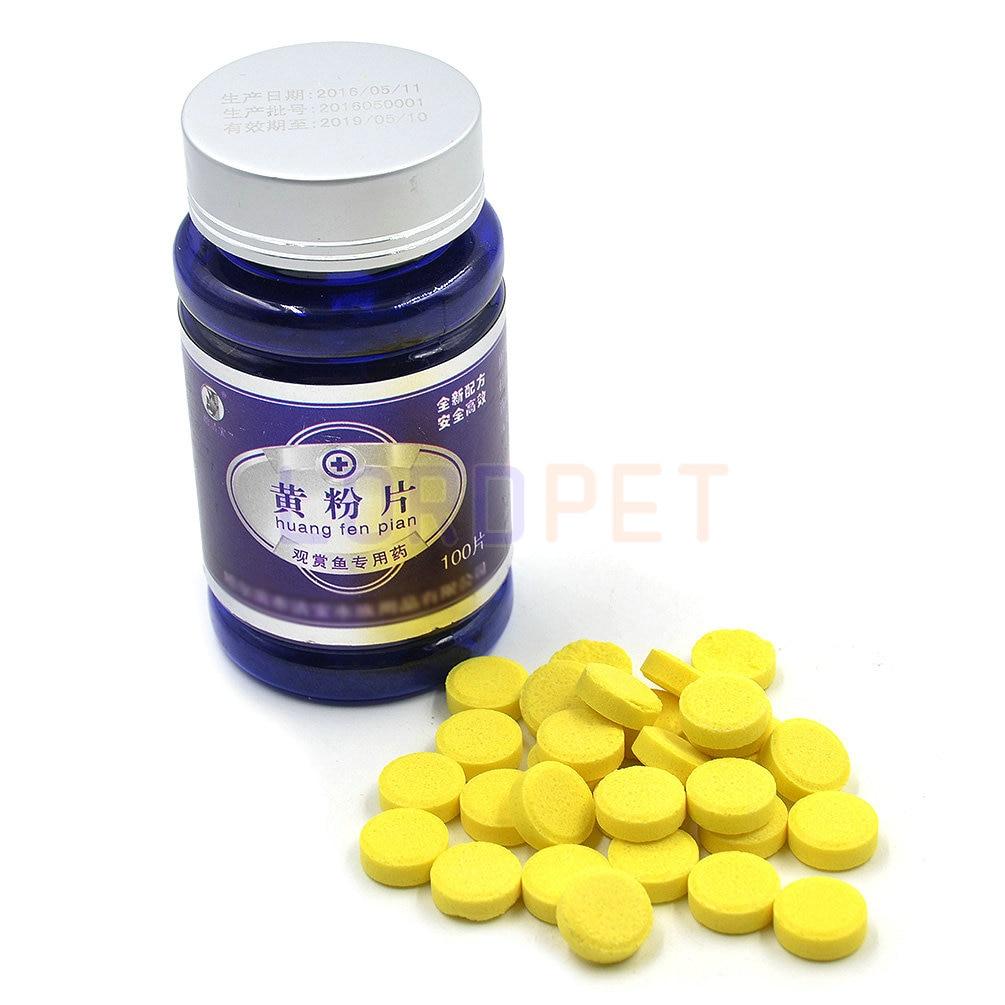 Fish tank antibiotics - Aquarium Fish Antibiotics Medicine Regular Basic Drug For Bacterial Infection 100pcs Tablets China Mainland