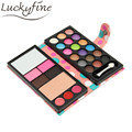26 Colors Eyeshadow Natural Waterproof Makeup Palette Billfold Style Pearl Matte Women Set Naked PU Cosmetic Accessories
