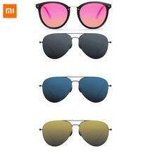 Xiaomi Original Turok Steinhardt TS de gafas de sol polarizadas de 100% RETRO UV a prueba de moda negro lentes de sol unisex