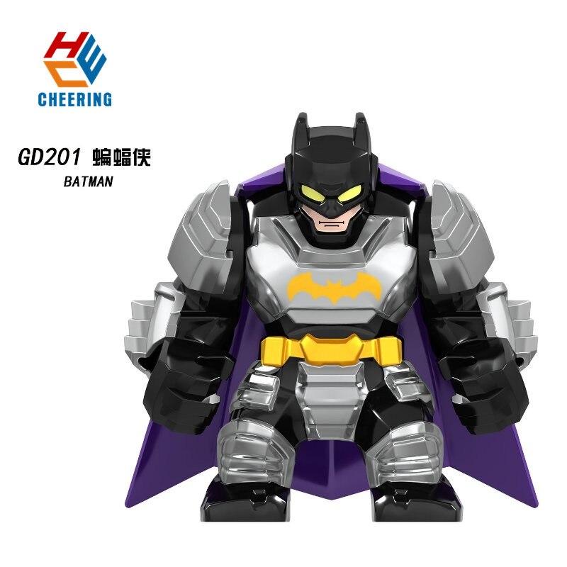 GD201 Big Figures Building Blocks Avengers 4 Endgame Black Panther Bricks Super Heroes Sprider-Man Iron Man Batman Toys For Kids