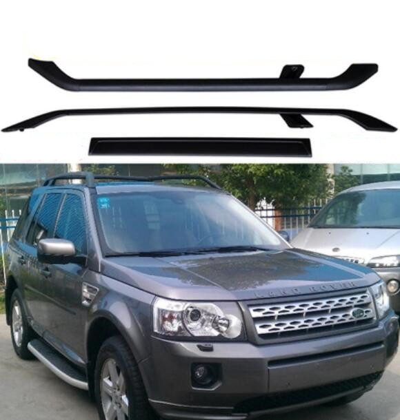 Car Aluminum Alloy Roof Rack Baggage Luggage Bar For Land