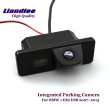 Liandlee For BMW 1 E82 E88 2007~2013 Car Rearview Reverse Camera Rear View Backup Parking Camera / Integrated High Quality new high quality rear view backup camera parking assist camera for toyota 86790 42030 8679042030