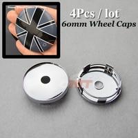 Hot Selling Wheel Center Cap 60mm 2 36inchfor Union Jack British Flag Logo Car Wheel Hub