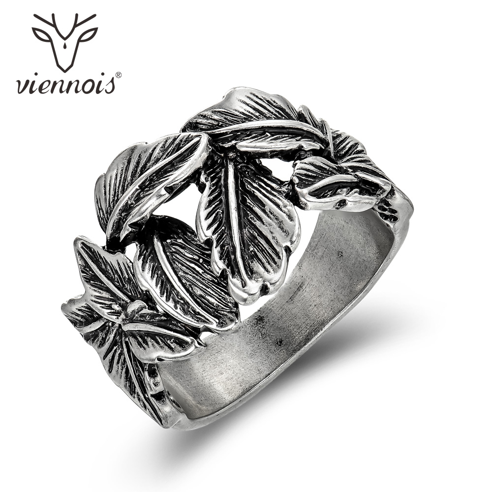 Buy viennois vintage silver color Vintage style fashion rings