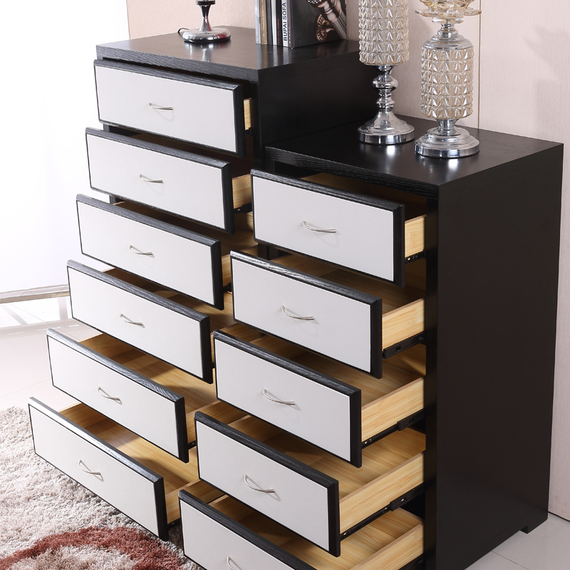 Modern minimalist wood chest of drawers Chests of Drawers six multi drawer  storage cabinet storage cabinet lockers living room-in Other Salon  Furniture from ... - Modern Minimalist Wood Chest Of Drawers Chests Of Drawers Six