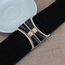 2018 New High quality Hot Brand Fashion black corset belt elastic belt wide waist belts women