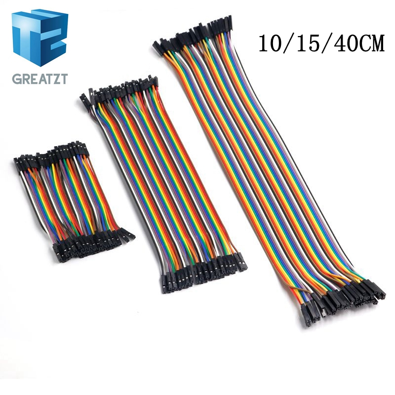 10pcs Dupont cable 30cm jump wires for Arduino shield Prototype project