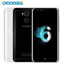 Original Doogee Y6 Cell Phone 4G RAM 64GB ROM Octa Core MTK6750 5.5 inch 3200mah Android 6.0 Fingerprint Smartphone