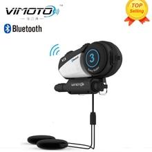 English Version Vimoto V3 Helmet Bluetooth font b Headset b font Motorcycle Multi functional Headphones For