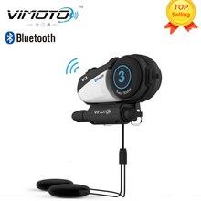 V3 600 мАч VIMOTO Шлем Bluetooth Гарнитура Мотоцикл многофункциональный Стерео Наушники Для Двухстороннее Райдо Easy Rider Серии