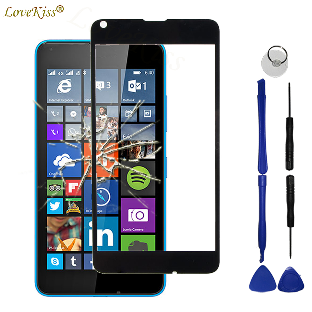 N640 Front Panel Touchscreen For Microsoft Nokia Lumia 640 XL 640XL N640XL Touch Screen Sensor LCD Display Digitizer Glass Cover