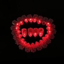 Lámpara LED Luces 50 Unids Globos Decoración Globo De Luz de la Linterna de Papel Del Partido Decoración Floral Del Banquete de Boda de la Decoración Floral decoración