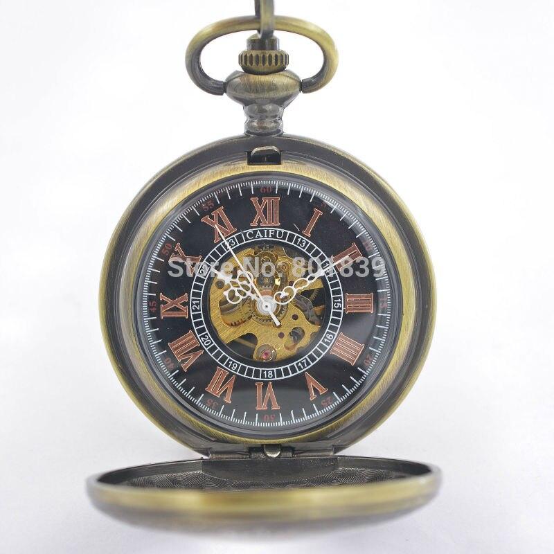 ξver Caso Tono Bronce Antiguo Estilo Vintage Número Romano Dial