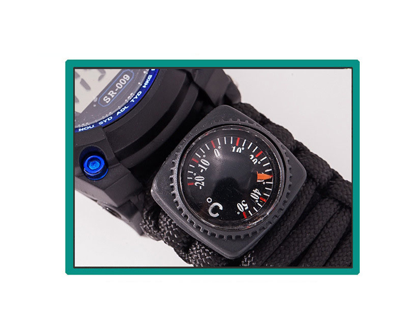 Survive Outdoor Sport Watches Men Emergency with Night Vision Men Digital Watches Compass Whistles Sports Wrist Watch Mens 2019 (7)