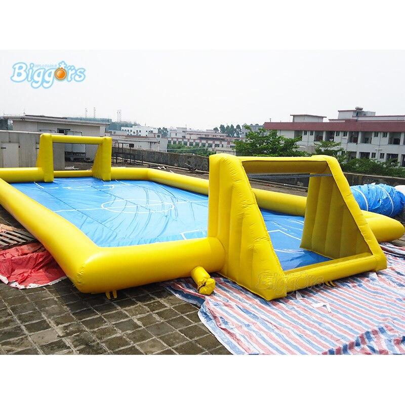 Игровая площадка СПОРТИВНЫЙ ИГРОВОЙ надувной воздушный бассейн футбольное поле