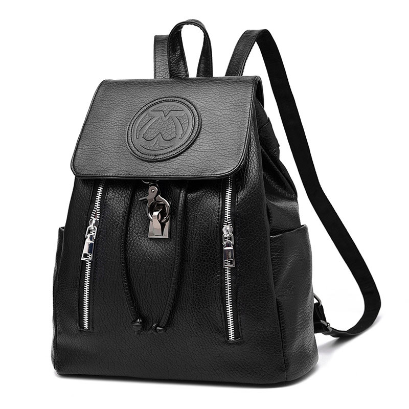 2018 New Fashion Girls Backpack PU leather Embossing School Bags Female Backpack lady's Soft Travel Backpack Blak Pink White цена 2017
