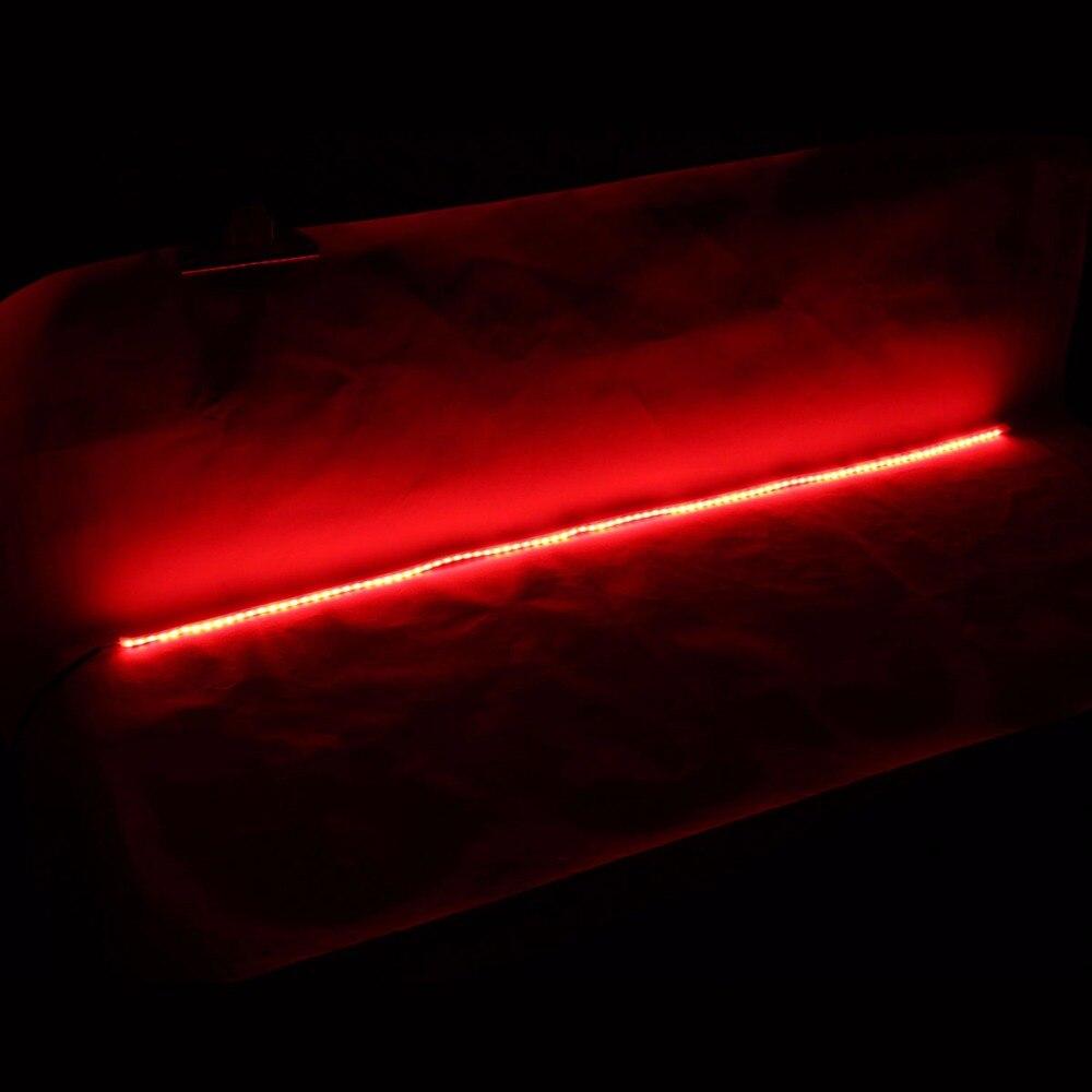 Задней двери прокладки СИД автомобиля света тормоза света сигнала поворота лампы Водонепроницаемый светодиодные полосы света для автомобиля мотоцикла внедорожник - один комплект