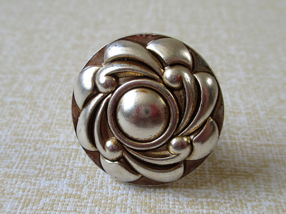 Antique Silver Vintage Look Furniture Flower Cabinet Knobs Pull Drawer  Handles Door Knob Handle In Cabinet Pulls From Home Improvement On  Aliexpress.com ...