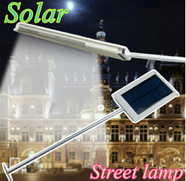 15 LED Solar Powered Panel LED Street Light Solar Sensor Lighting Utomhusväg Wall Emergency Lamp Säkerhet Spot Light Luminaria