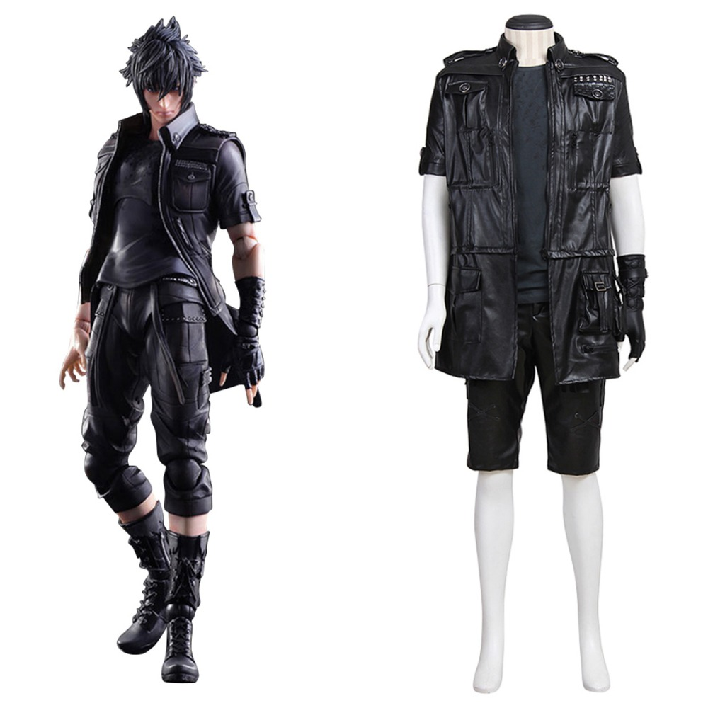Adult Final Fantasy XV FF15 Noctis Lucis Caelum Noct Cosplay Costume men Outfit Anime Costume Custom Made