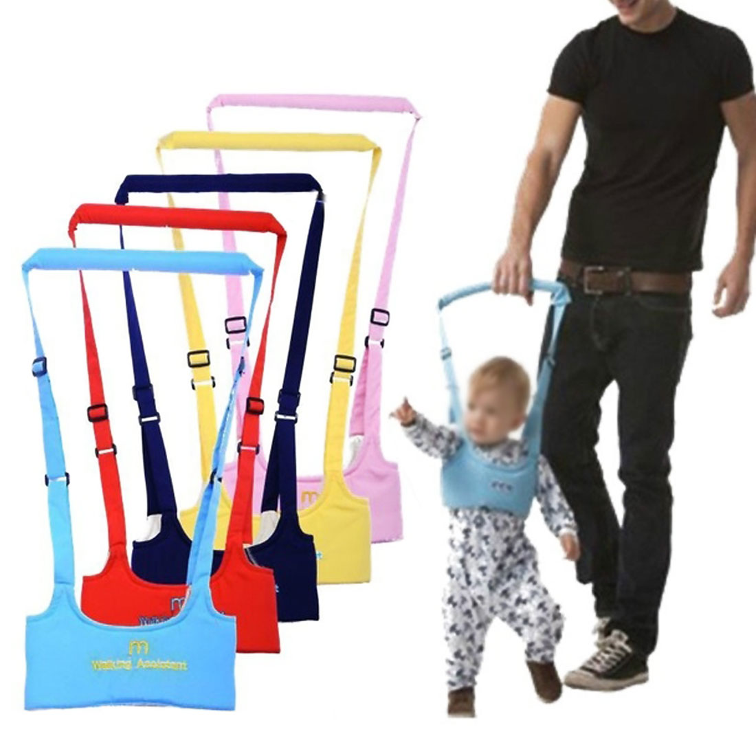 Child Safety Harness Assistant Baby Walker Baby Harness Assistant Toddler Leash For Kids Learning Walking Baby Belt