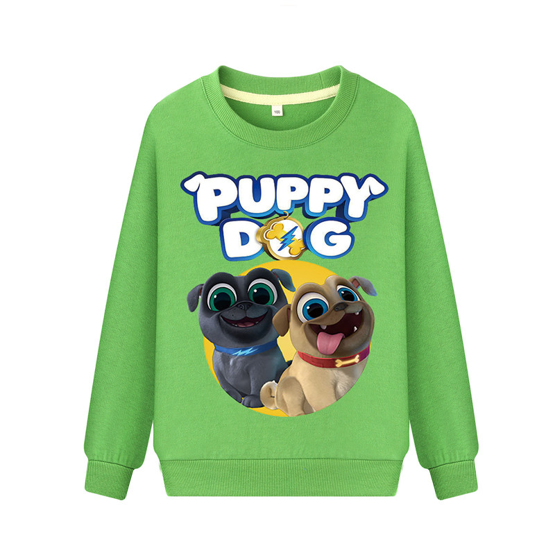 Boys Girls Puppy Dog Pals Kids Sweatshirts Hoodies Spring Fall Casual Clothing