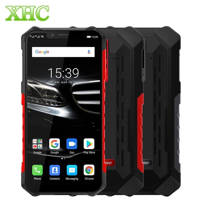 IP68 Ulefone Armor 6E Android 9.0 Helio P70 Octa Core téléphone portable 4 GB 64 GB 6.2 ''double SIM recharge sans fil OTG NFC Smartphone