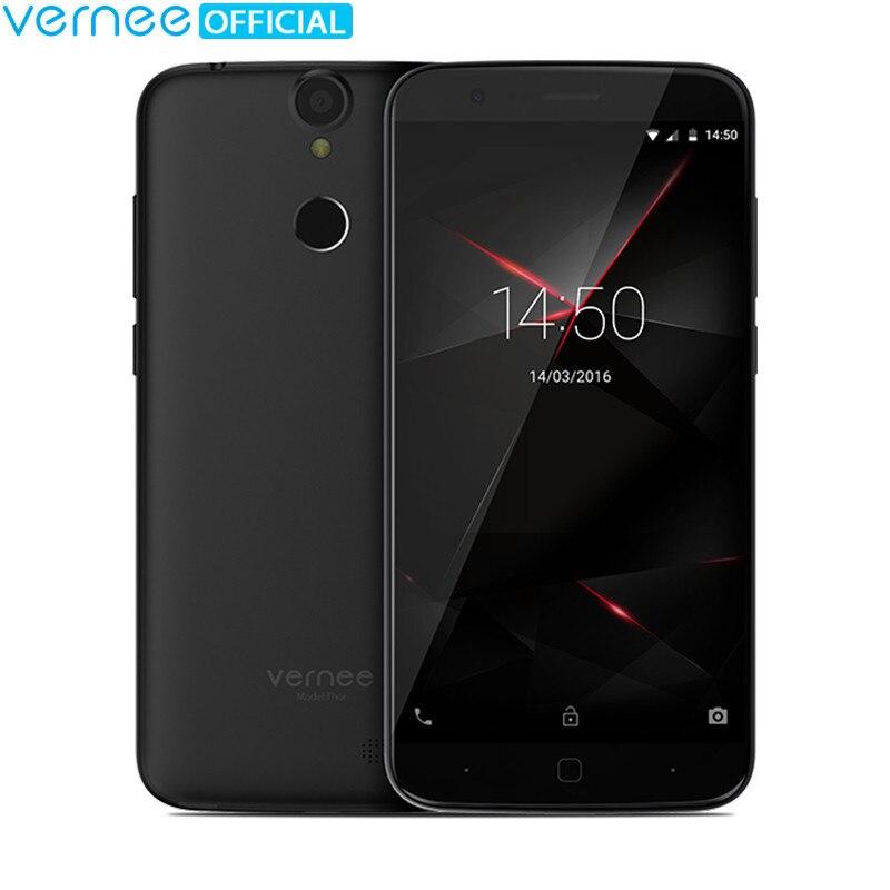 Vernee Тор 5 HD 4 г LTE мобильный телефон mtk6753 Восьмиядерный Android 7.0 сотовые телефоны 3G Оперативная память 16 г Встроенная память Dual SIM отпечатков пал...