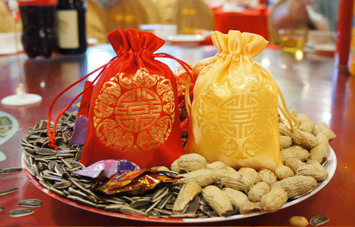 Image 3 - China Embroider Silk Stain Jewelry Gift Pouch 10x13cm(4x5inch)  pack of 100 Birthday Wedding Party Candy Drawstring Baggift pouchsilk  pouchembroidered pouch
