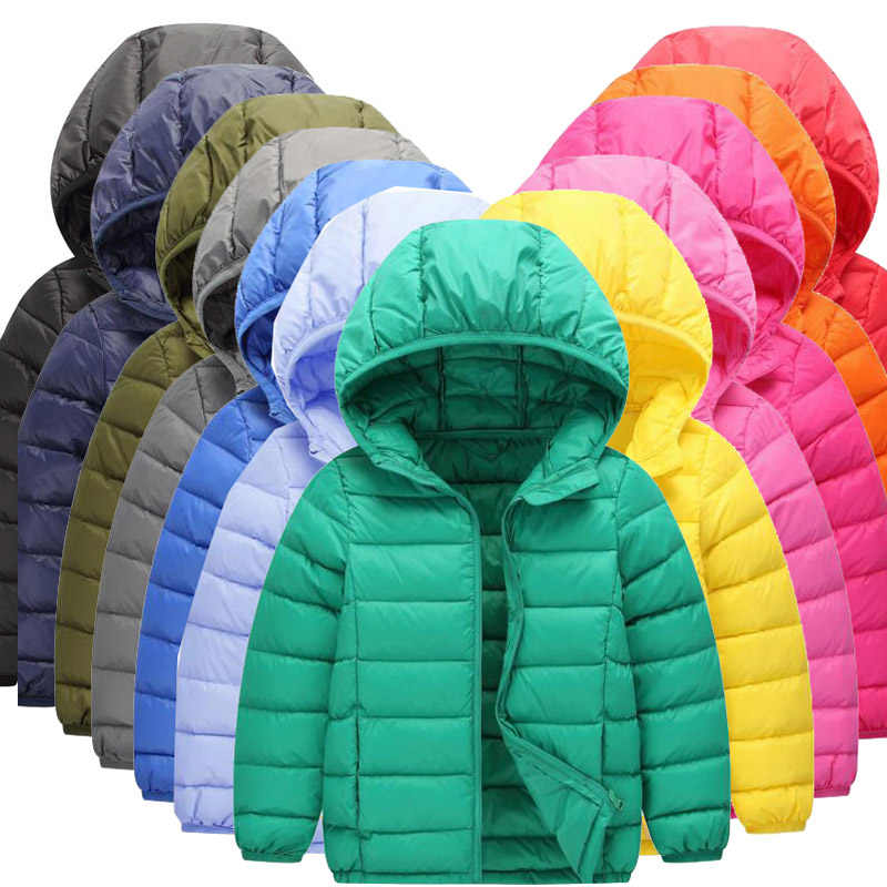 BEEBILLY 2-14Y Ultra Light Boys Down Jacket for Girls Duck Down Parkas 90% Down Winter Warm Children Coat Big Boys Girls Clothes