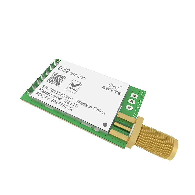 Image 4 - 10pc/lot LoRa 915MHz SX1276 SX1278 E32 915T20D rf Transceiver Wireless Module 915 Mhz rf Transmitter Receiver-in Fixed Wireless Terminals from Cellphones & Telecommunications