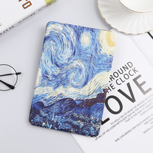 цена на Case for Apple iPad Pro 9.7 A1673 A1674 A1675 Cartoon Painting Smart Cover for iPad Pro 10.5 A1701 A1709 Magnetic Flip Cover