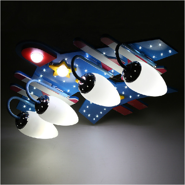 Modern Brief Airplane LED Ceiling Light kid children s bedroom     Modern Brief Airplane LED Ceiling Light kid children s bedroom Ceiling Lamp  Eye Protective Lighting Fixture