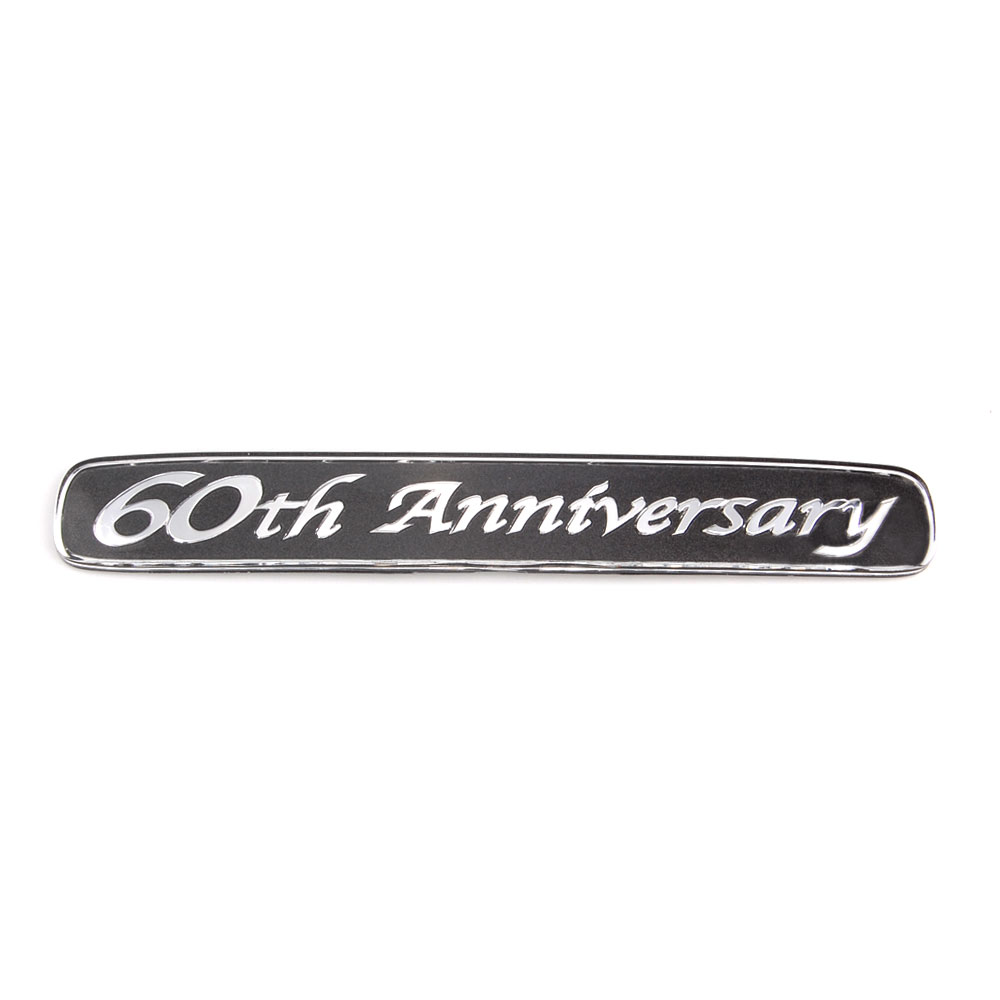 BBQ@FUKA 10pcs Auto car styling Aluminium 60th Anniversary for Land Cruiser Emblem Badge decal Sticker Car accessories bbq fuka 2pcs aluminum car styling auto pininfarina disegno for hyundai kia focus 2 renault tiburon emblem badge car sticker